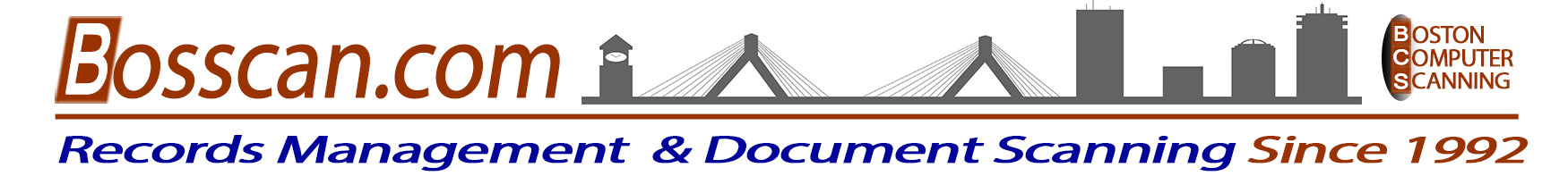 Document Scanning Boston Since 1992