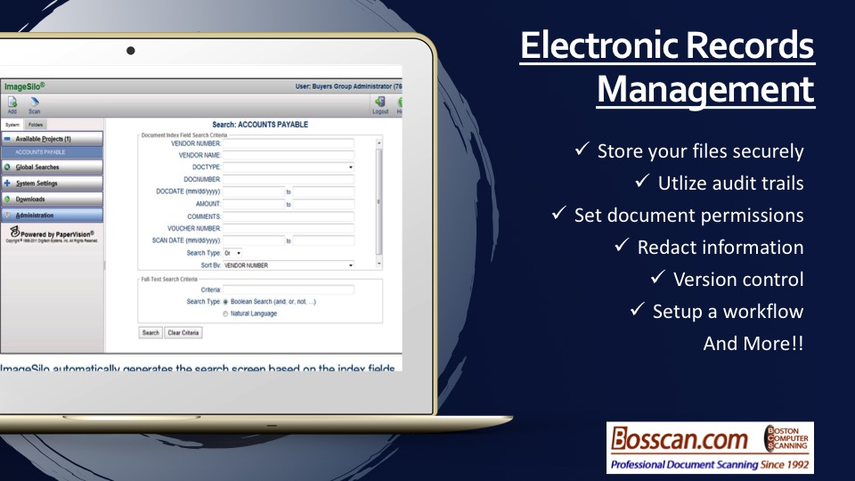 organize and easily access your documents