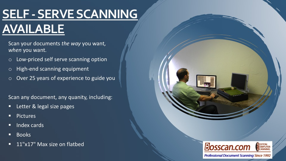 do it yourself scanning with professional equipment
